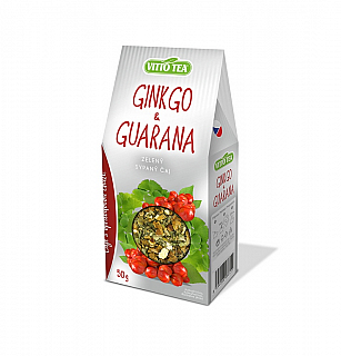 VITTO Green Ginkgo & guarana papír 50g