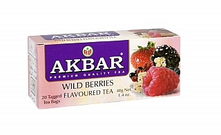 AKBAR Wild Berries nepřebal 20x2g