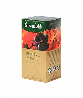 GF Herbal Festive Grape přebal 25x2g