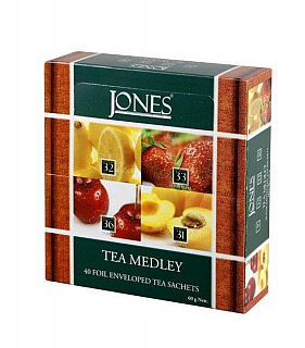 JONES Variace No.40 Fruity přebal 4x10x1,5g