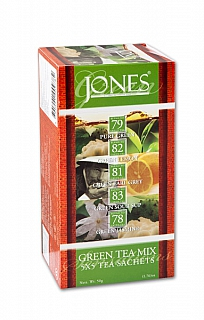 JONES 6/20 Variace No.25 Green přebal 5x5x2g
