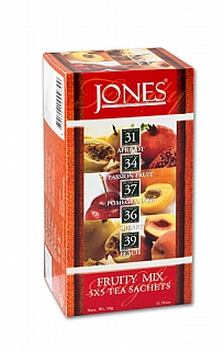 JONES 6/20 Variace No.25 Black Fruity Mix přebal 5x5x2g