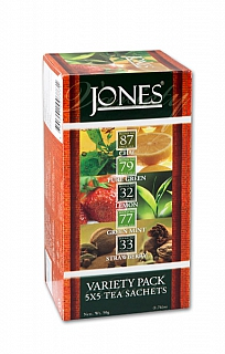 JONES //6/20 Variace No.25 Variety Pack přebal 5x5x2g