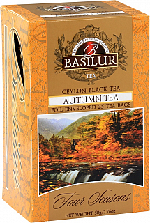 BASILUR Four Seasons Autumn Tea přebal 20x2g