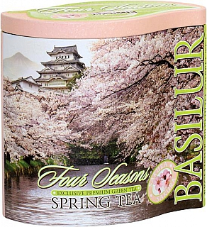 BASILUR Four Seasons Spring Tea plech 100g