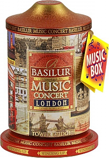 BASILUR Music Concert London plech 100g