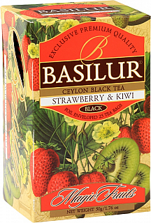 BASILUR Magic Strawberry & Kiwi přebal 20x2g