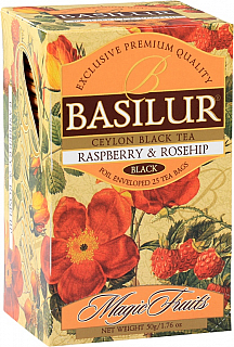 BASILUR Magic Raspberry & Rosehip přebal 20x2g