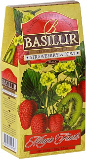 BASILUR Magic Strawberry & Kiwi papír 100g