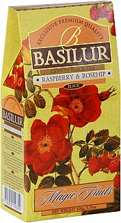 BASILUR Magic Raspberry & Rosehip papír 100g