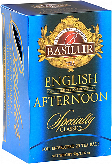 BASILUR Specialty English Afternoon papír 20x2g
