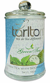 TARLTON Green Soursop Mint sklo 160g