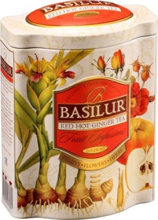 BASILUR Fruit Red Hot Ginger plech 100g