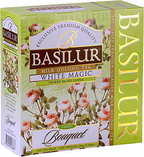 BASILUR Bouquet White Magic nepřebal 100x1,5g