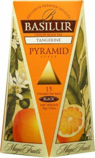 BASILUR Magic Tangerine Pyramid 15x2g