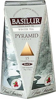BASILUR/ Four Seasons Winter Tea Pyramid 15x2g