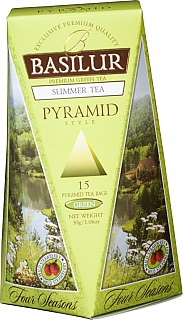 BASILUR Four Seasons Summer Pyramid 15x2g