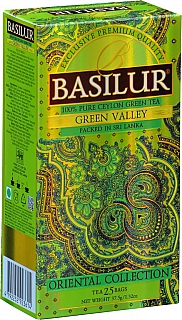 BASILUR Orient Green Valley nepřebal 25x1.5g