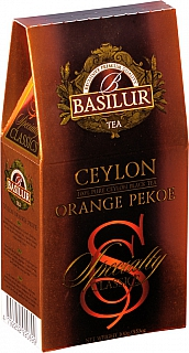 BASILUR Specialty Orange Pekoe papír 100g