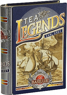 BASILUR Book Legends Earl Grey plech 100g