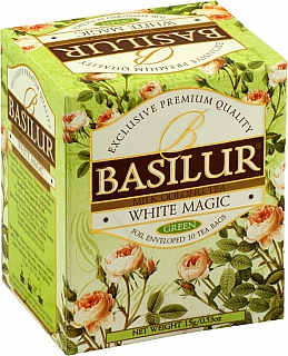 BASILUR Bouquet  White Magic přebal 10x1.5g