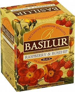 BASILUR Magic Raspberry & Rosehip přebal 10x2g