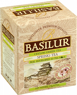 BASILUR Four Seasons Spring Tea přebal 10x1,5g