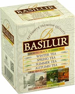 BASILUR Four Seasons Assorted 5x1,5g a 5x2g
