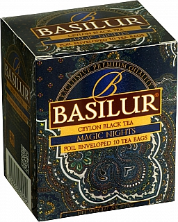 BASILUR Orient Magic Nights přebal 10x2g