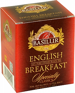 BASILUR Specialty English Breakfast přebal 10x2g