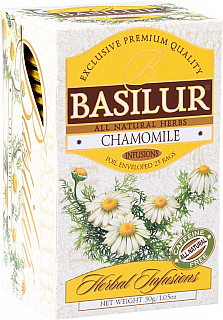 BASILUR Herbal Camomile přebal 20x1,2g