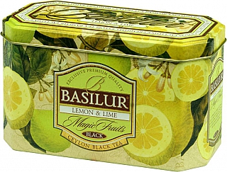 BASILUR Magic Lemon & Lime plech 20x2g