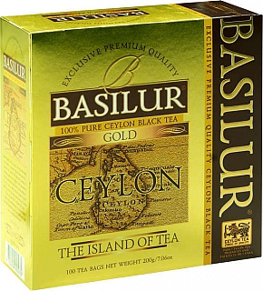 BASILUR Island of Tea Gold nepřebal 100x2g