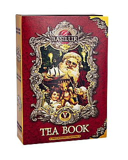BASILUR Tea Book Red V. papír 75g