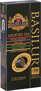BASILUR 9/18 TeaCaps Assorted čajové kapsle 21g