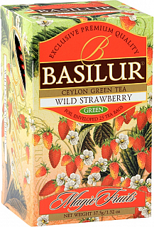 BASILUR Magic Wild Strawberry přebal 20x1,5g