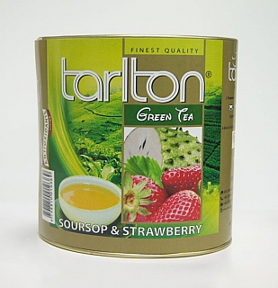 TARLTON Green Soursop & Strawberry dóza 100g