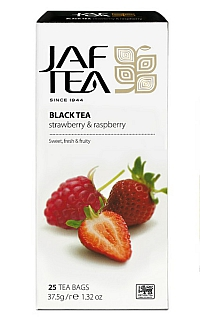 JAFTEA Black Strawberry & Raspberry nepřebal 25x1,5g
