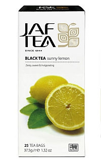 JAFTEA Black Sunny Lemon nepřebal 25x1,5g