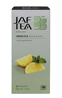 JAFTEA 6/20 Green Lemon Mint nepřebal 25x2g