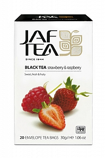 JAFTEA Black Strawberry & Raspberry přebal 20x1,5g