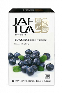 JAFTEA Black Blueberry Delight přebal 20x1,5g
