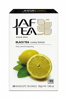 JAFTEA Black Sunny Lemon přebal 20x1,5g
