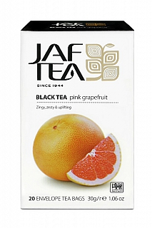 JAFTEA Black Pink Grapefruit přebal 20x1,5g