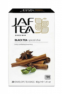 JAFTEA/ Black Spiced Chai přebal 20x2g