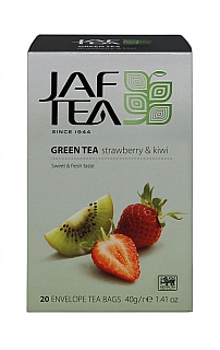 JAFTEA Green Srawberry & Kiwi přebal 20x2g