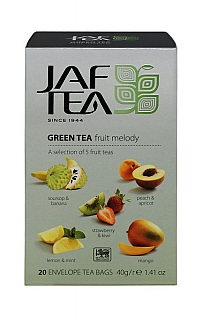 JAFTEA/ Green Fruit Melody přebal 5x4x2g
