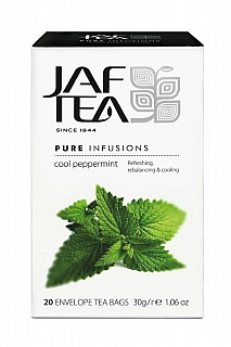 JAFTEA Infusion Cool Peppermint přebal  20x1,5g