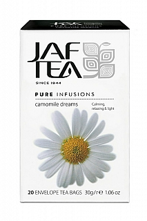 JAFTEA Infusion Camomile Dream přebal  20x1,5g
