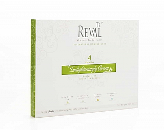 Te Reval 24 Enlighteningly Green Singles 24x2g